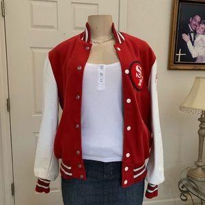 """NFL"" 🏈 San Francisco 49er's Varsity Jacket/co-ed"